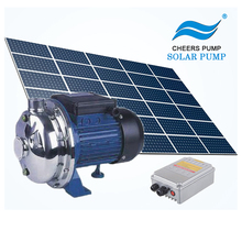 solar water pump set solar surface pump with controller