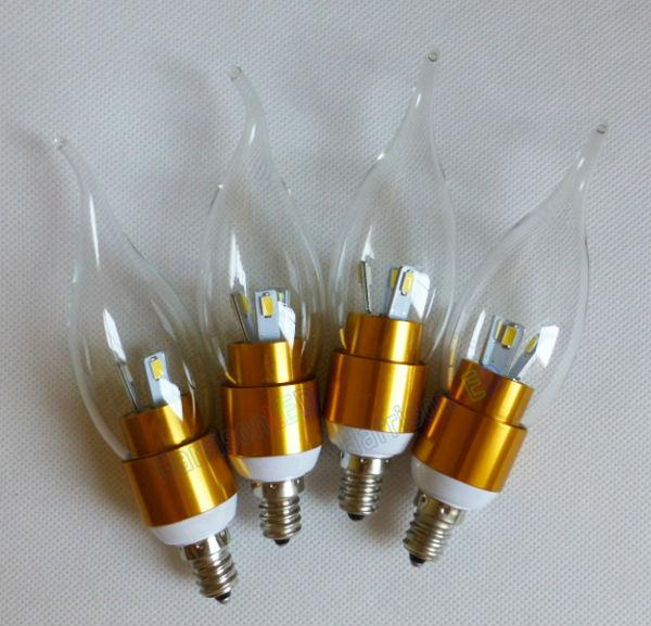 D'économie D'énergie E14 Vacillante 3w Ampoule Candélabres Flamme Base Led E12 Bougie oWedBrxC
