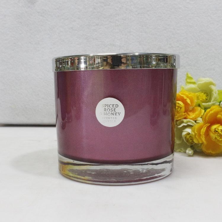 wholesale cheap glass candle wax oil warmer burner manufacturer