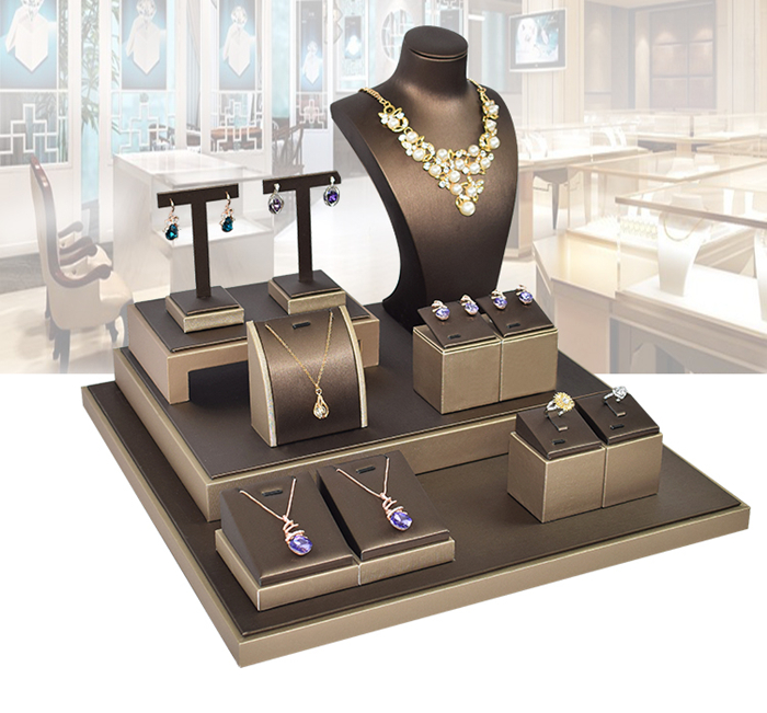897199dd73d3 DaWanda joyas y bisutería joyería de mostrador de la tienda de pantalla  conjunto para collar de
