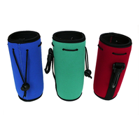 Neoprene colorful beer water bottle cover