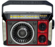 1000mah rechargeable battery Portable retro all band am fm sw radio receiver with usb/sd