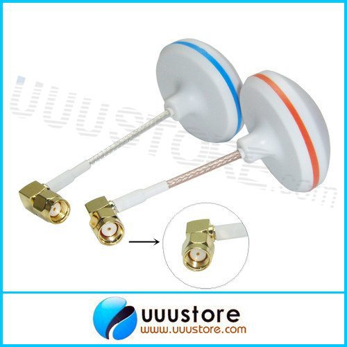 2pcs/lot L shape inner Hole Antenna Two 5.8G Gains  for FPV Aerial Photo
