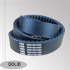 SOLID high quality tooth rubber drive belt