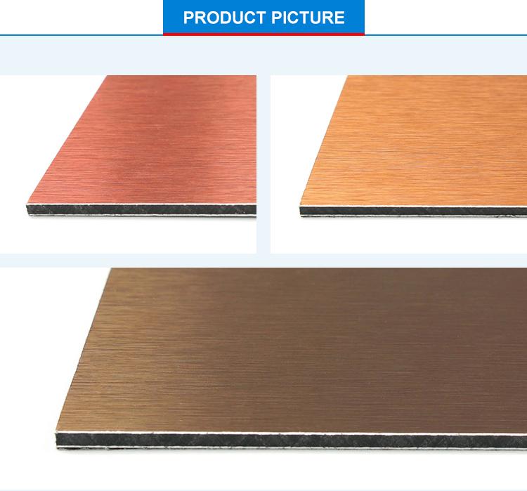 China Dark Blue Silver Aluminum Composite Panel Suppliers