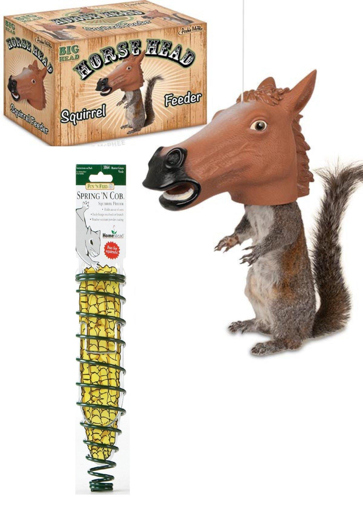 Heath Corn Log Squirrel Feed Logs