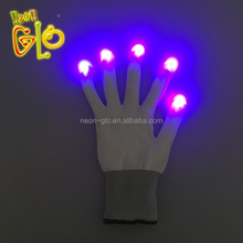 Party Favor LED Funny Flashing Glove With Rainbow Light