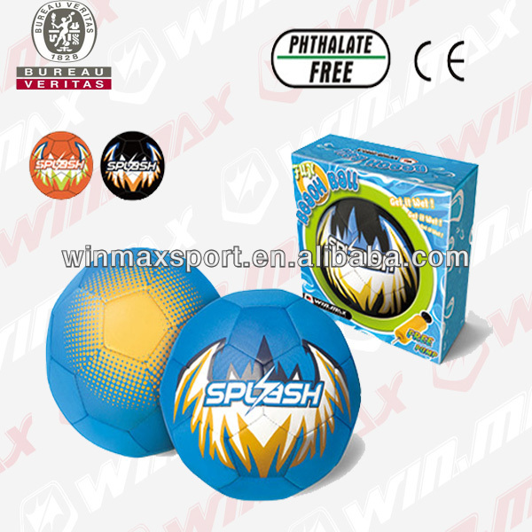 Winmax merk heet verkoop neopreen splash opblaasbare internationale rubber beachvolleybal
