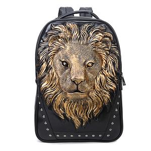 bcc31b82de56 Lion Head Backpack
