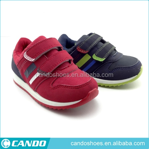 buckle design kids sport shoe max size air shoes boy sport shoes