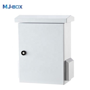 Weatherproof electrical cabinet pole wall mounted distribution box