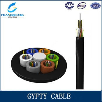a5985d0154 China factory supply non armoured duct single mode outdoor 48 core GYFTY  furukawa fiber optic cable