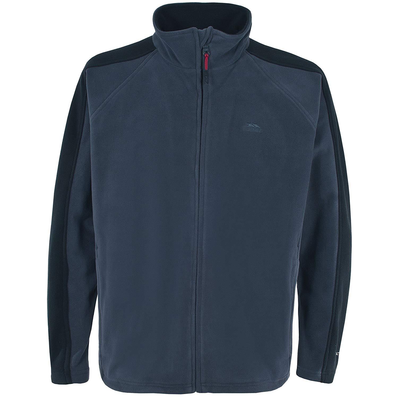 Trespass Mens Acres Full Zip Fleece Jacket (XL) (Navy Tone)