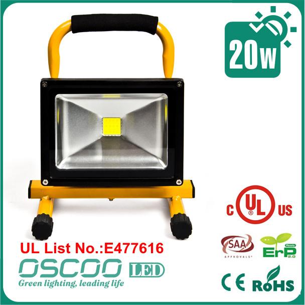 Oscoo Led Flood Light Tech Box,10w Rechargeable Led Flood Light ...