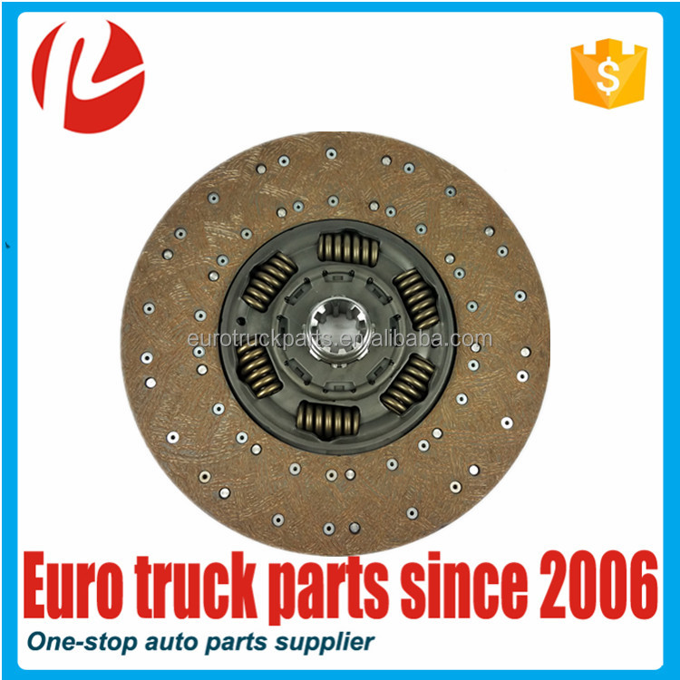 European truck auto spare parts oem 1878038041 clutch disc for MAN TGA TGS clutch pressure plate