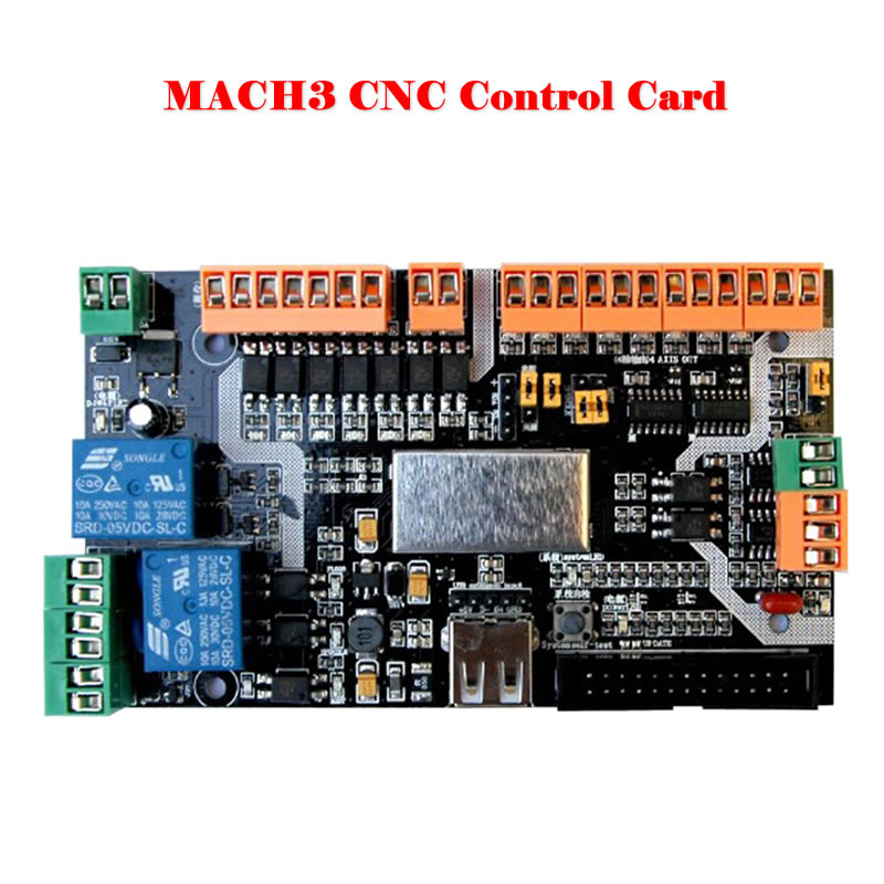 DIY CNC Laser USB Motion Card CNC Engraving Machine 3 Axis 4 Axis Control Cards Can Be Replaced MACH3