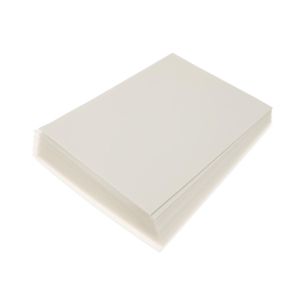 5 Paquetes De Comestibles De Oblea Arroz las hojas de papel A4 25 Pcs