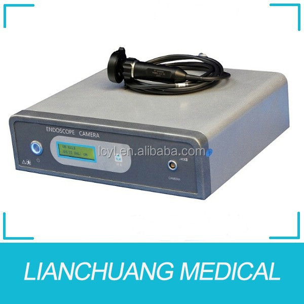 Endoscopic hd video camera with endoscopy cart/trolley