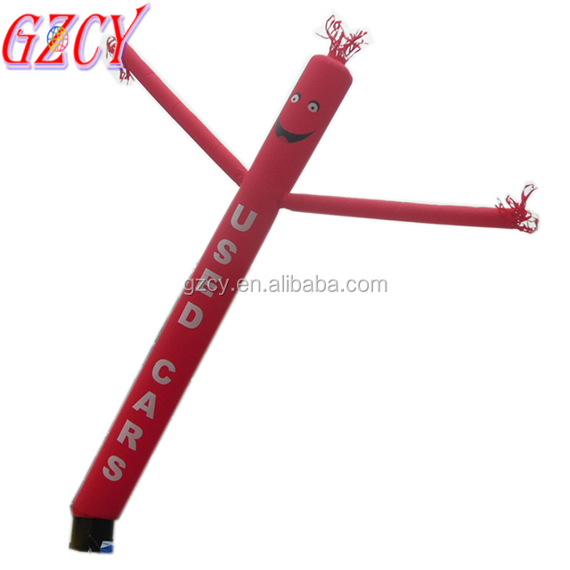 Customized design inflatable air dancer sky dancer doll imnges inflatable santa air dancer pole