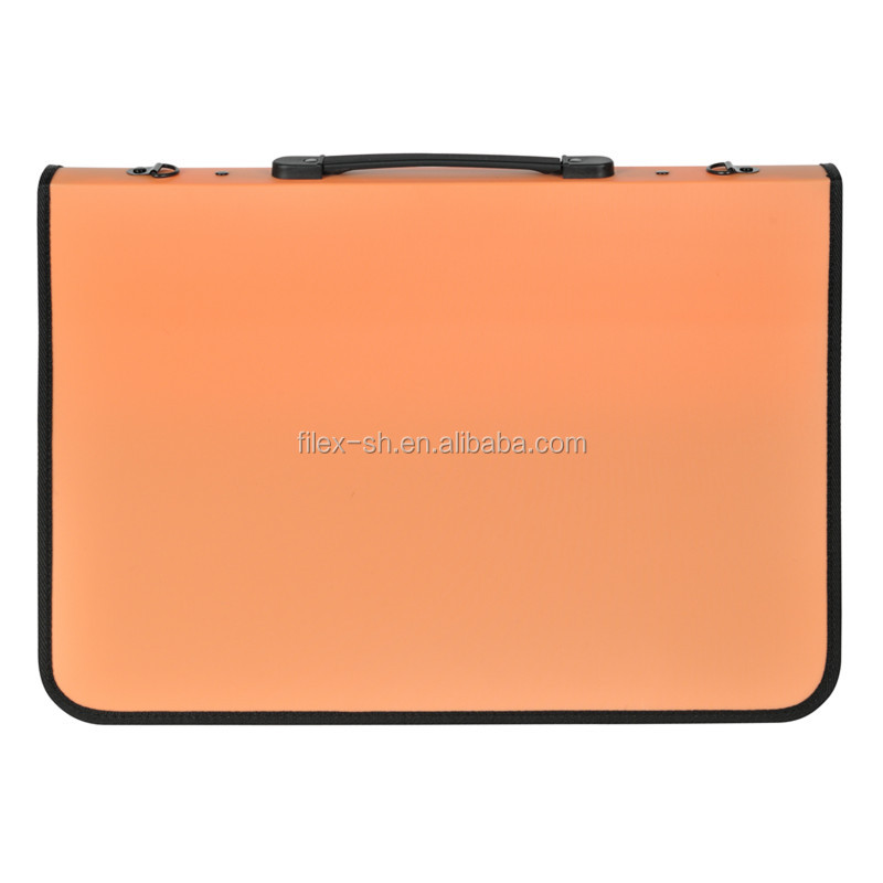 Orange PP Artist Portfolio Art Drawing Carrying Case Art Folder A2 A1 A3 A4
