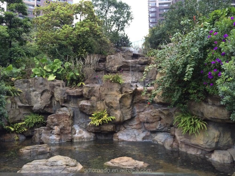 Cascata Da Giardino Moderna : Cinese artificiale stampi per mini fontana di acqua fontane da