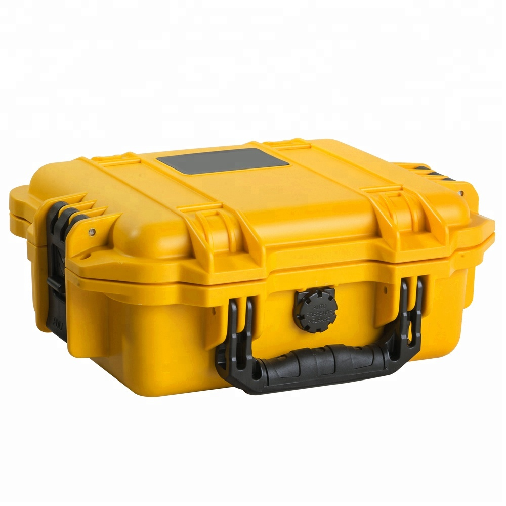IP67 PP colorful hard plastic equipment tool case with ROSH