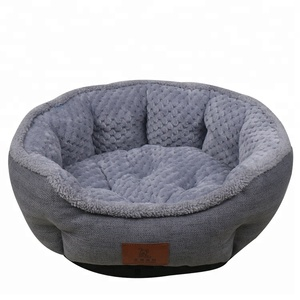 China Supplier Cheap Round Beds Cotton Self Warming Dog Pet Bed,Cat Bed Sofa,Cama Perro