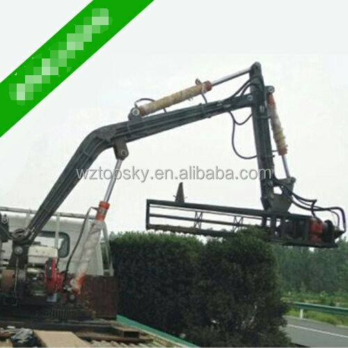 Truck loaded Hydraulic Hedge Cutter / Hedge Trimmer
