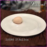 Wholesale ceramic plate cheap bulk white porcelain dinner plates for hotel