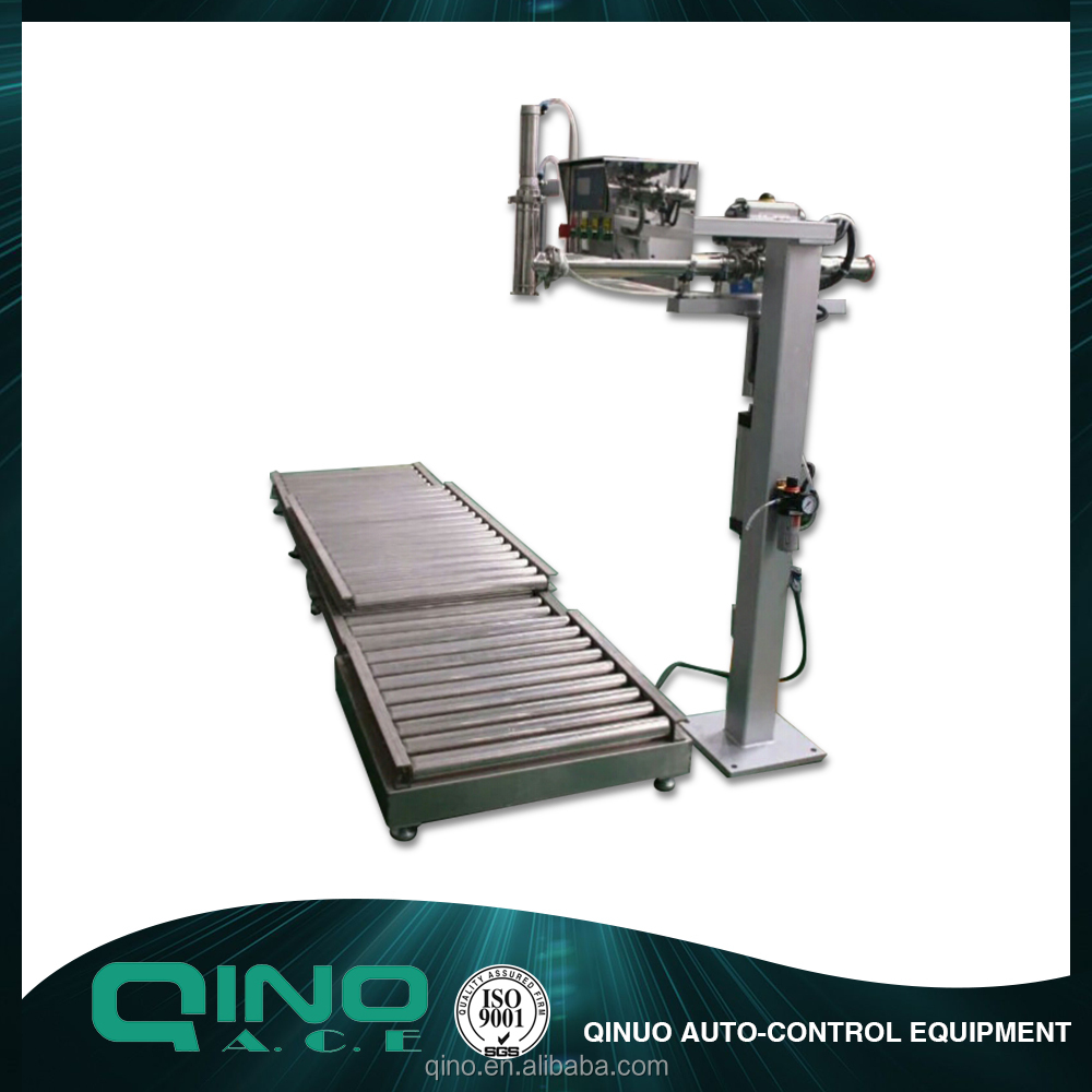 Widely used efficient security IBC auger liquid filling machine