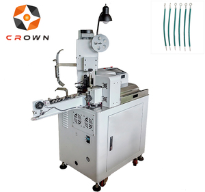 2018 Newest Hot Sale Fully Automatic Electrical Brass Cable Terminal Crimping Machine Twisting and Tinning Machine DZF-BR