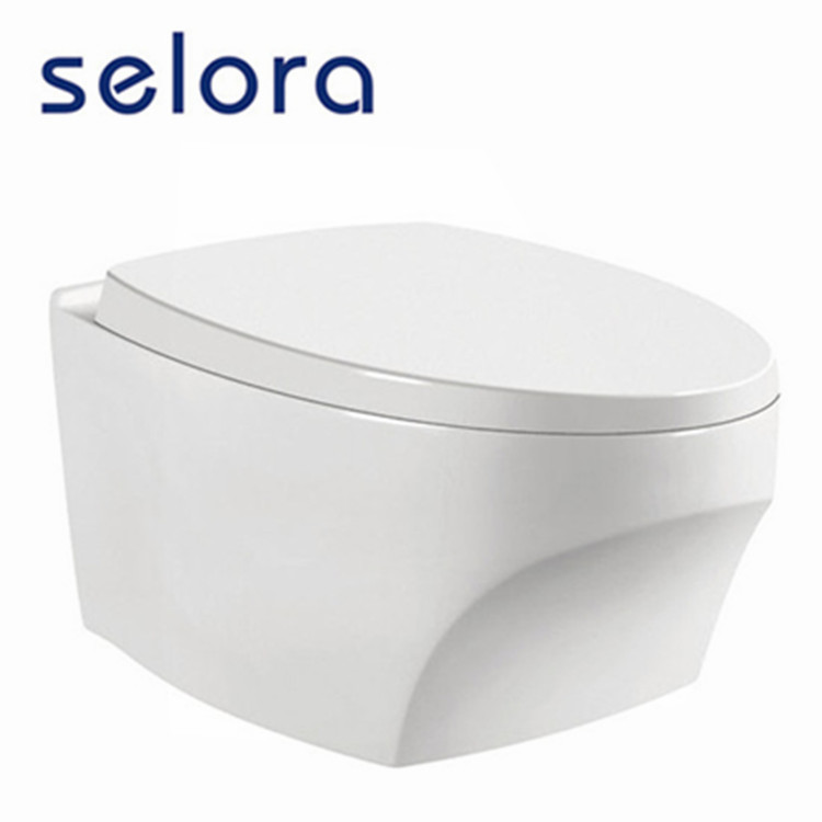 Cheap price and good quality ceramic wall hung toilet