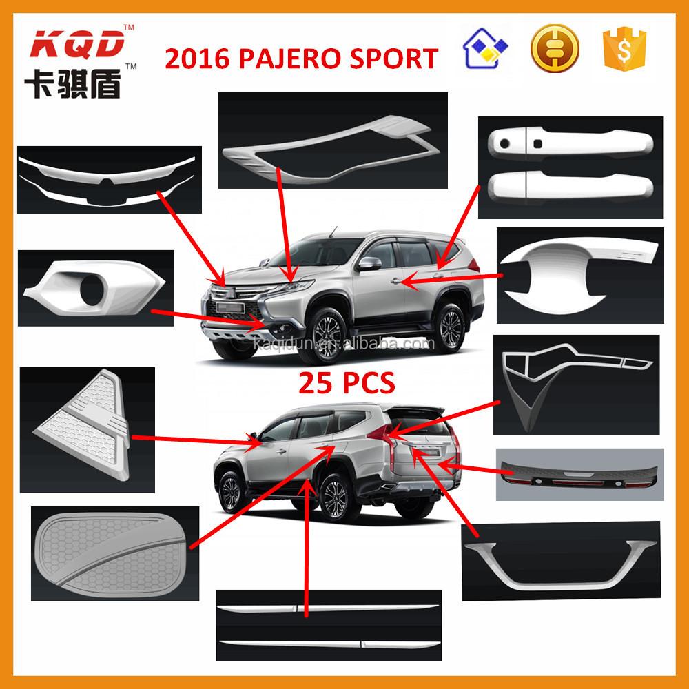 Pajero Sports Accessories Chrome Kits For Mitsubishi Pajero Sport - Buy For  Mitsubishi Pajero Sport Accessories,For Mitsubishi Pajero Sport,Pajero