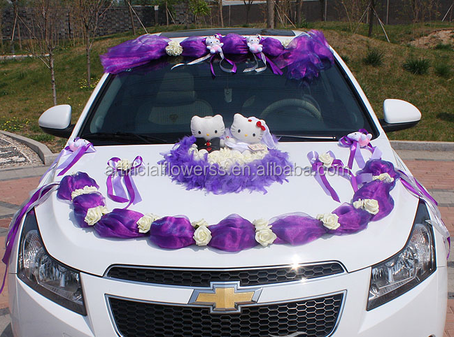 Valentines day gift idea artificial flower wedding car decoration valentines day gift idea artificial flower wedding car decoration junglespirit Image collections