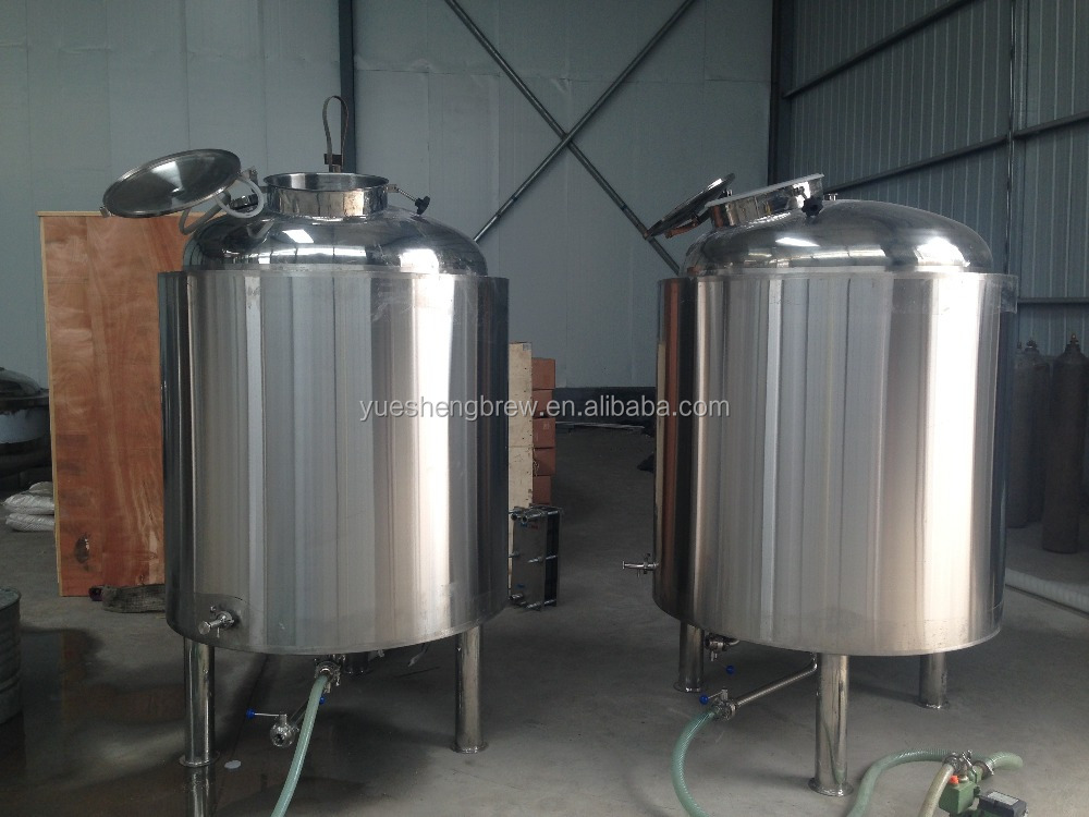 Small model 500l brewery equipment beer fermenting turnkey for Craft kettle brewing equipment