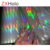 Transparent thermal holographic lamination film for laminated paperboard and make different boxes