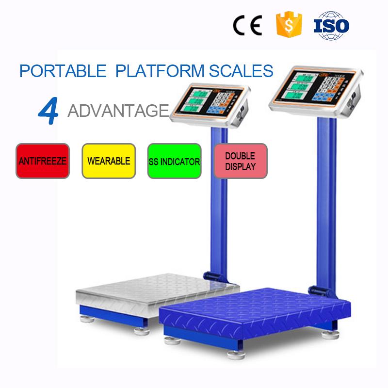 Elektronische industriële platform wegen bench schaal 300 kg
