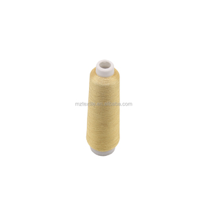 Ms Type Pure Gold Metallic Thread Used Embroidery Machine