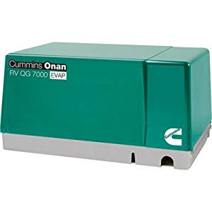 Cummins Onan Quiet Series Gasoline RV Generator - 7.0 kW, CARB and EPA Compli...
