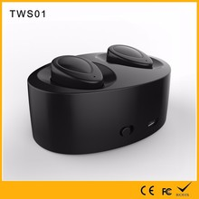 China supplier oem wholesale Shenzhen2017 self charging earphone wireless earbuds TWS01 in all departments