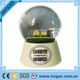 Polystone europe white castle resin water snow globe for home decoration & gift