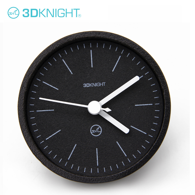 Wholesale colorful cement simple clock modern desk clock image