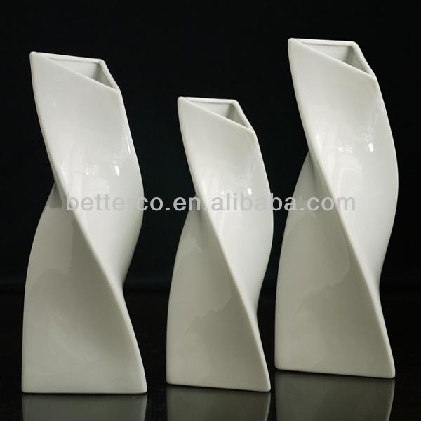 vase en c ramique design moderne vase de fleurs en. Black Bedroom Furniture Sets. Home Design Ideas