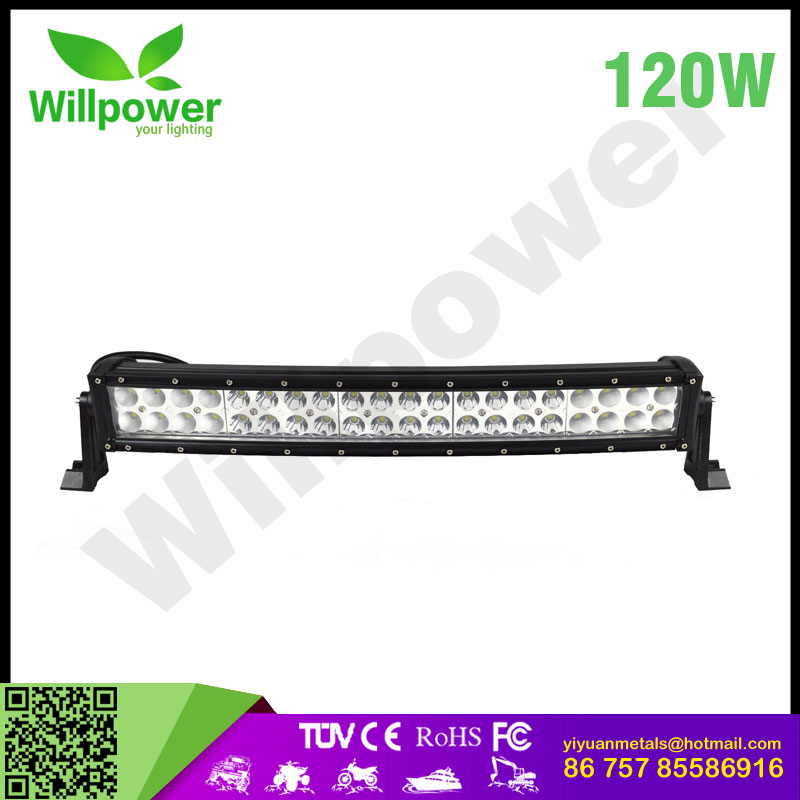 offroad car high power 4x4 auto curved led light bar cover