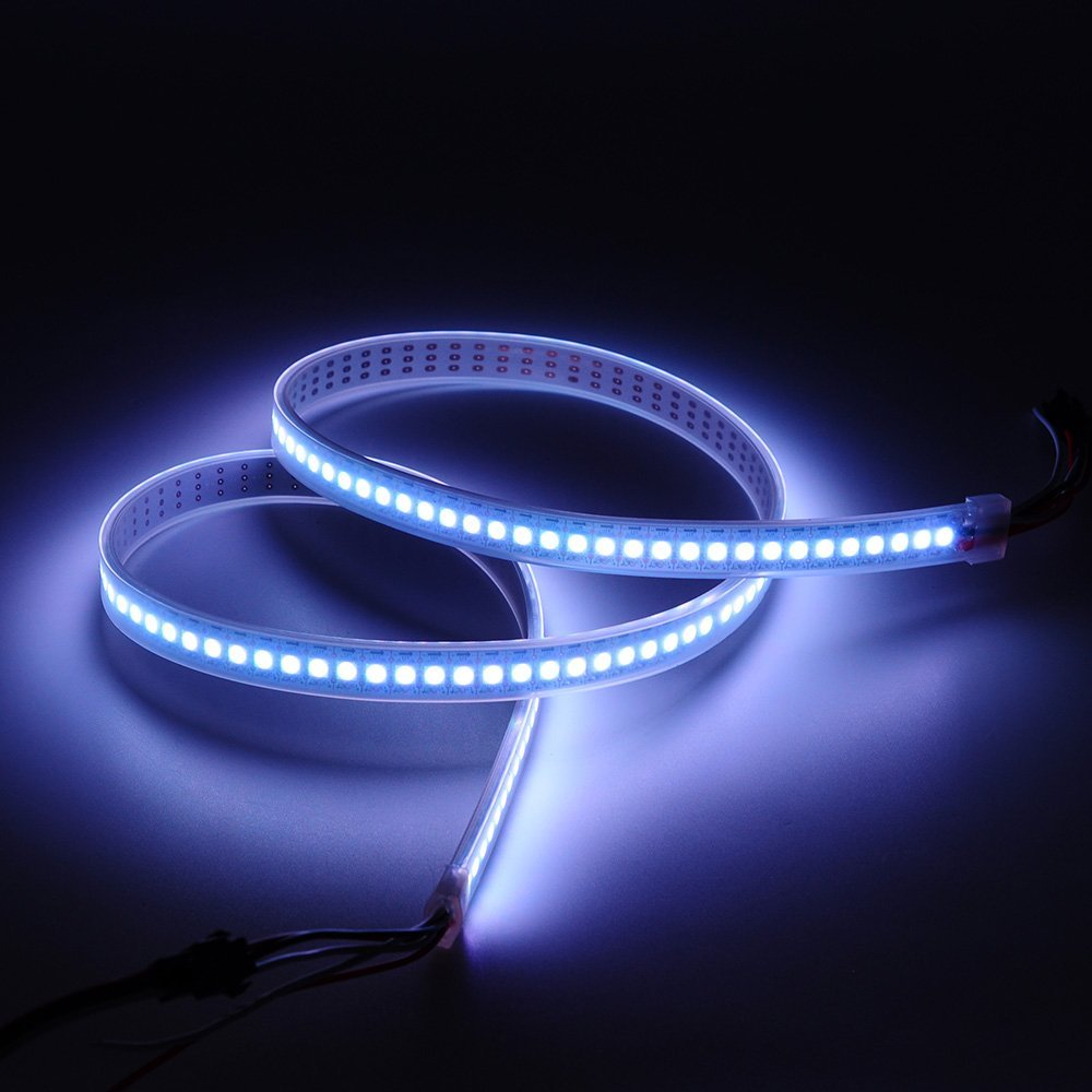 Cinema SK6812 led strip lights price in india individually addressable for effects Density LED strip light