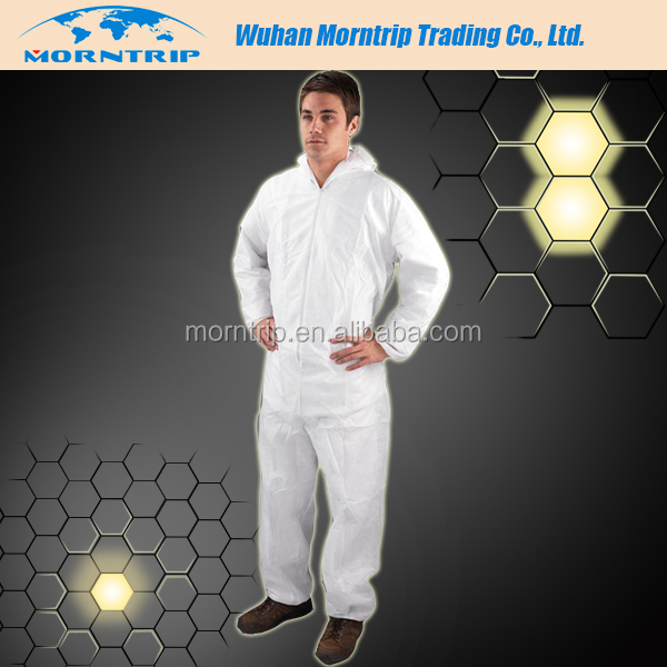 Disposable Nonwoven Construction Workwear, Working Uniform for Building Company