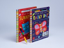 Thick hardcover children book printing