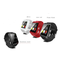 Hot Selling Touch- enabled Multi-Functions Smartwatch Smart Watch U8 Bluetooth Android u8 Smartwatch