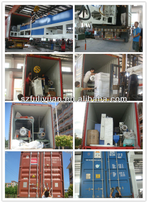 FULIYUAN automatic foam cutting machine and pe foam roll cutting machine