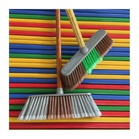broom and dustpan set smart broom with wooden broomstick